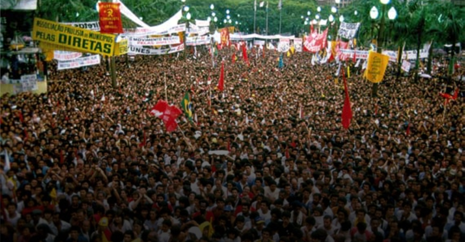 25.01.1984 – Movimento Diretas já!
