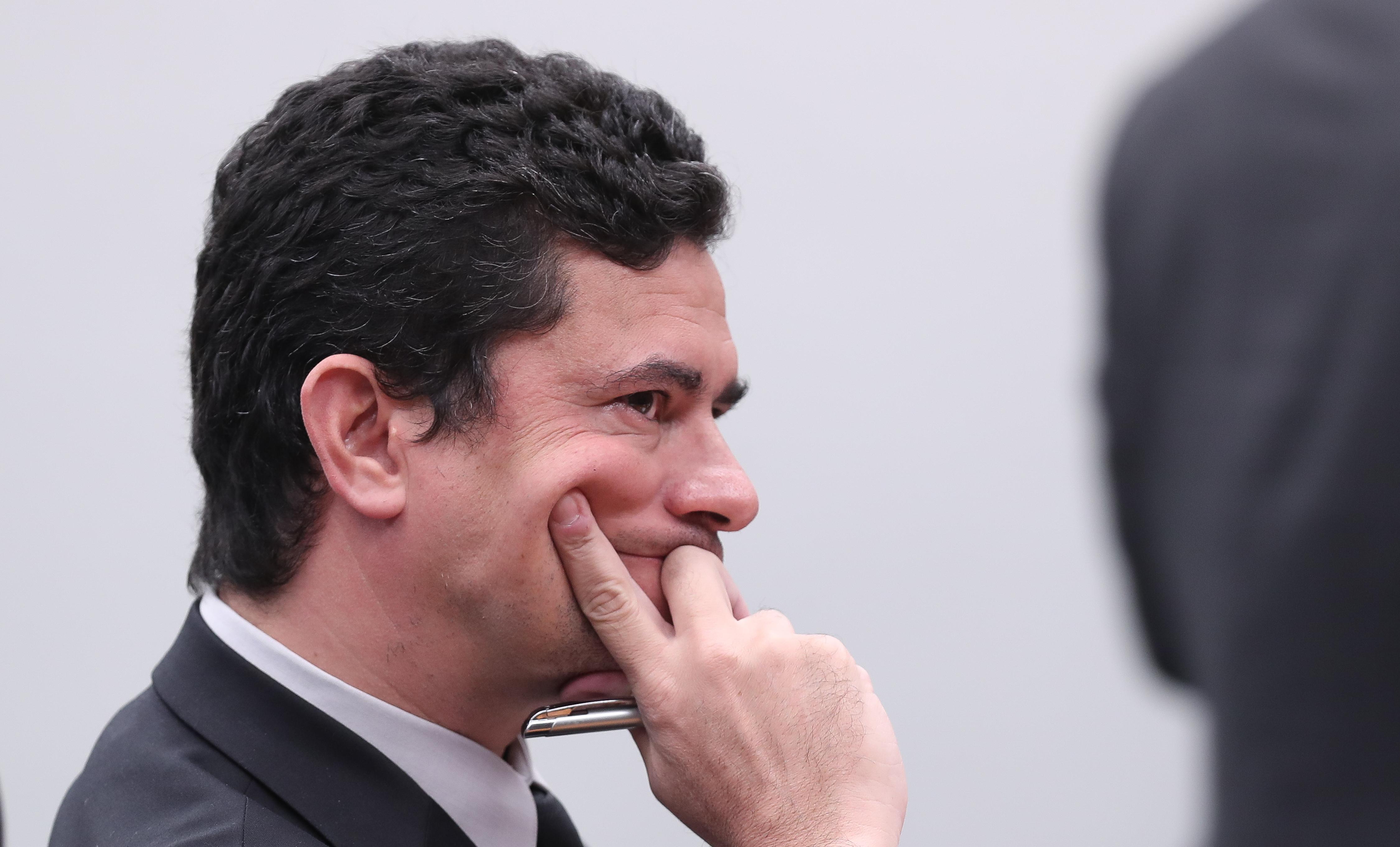 De acordo com mensagens reveladas pela Folha e o Intercept, Sérgio Moro omitiu palestra e valor recebido em prestação de contas como juiz - Créditos: Lula Marques